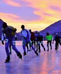 Event: Ice skating – Alternative Elfstedentocht Weissensee