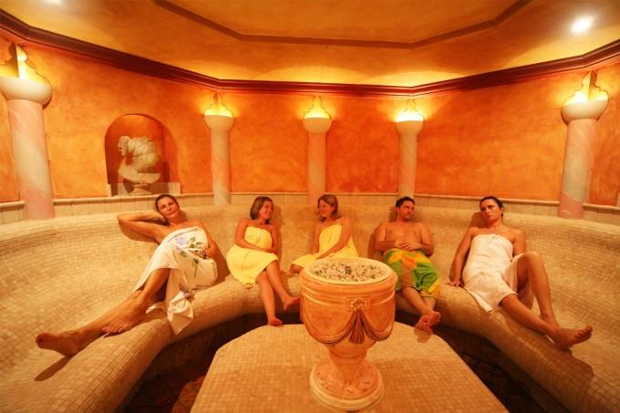 Wellness: Sauna Aquarena