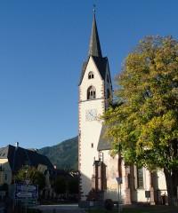 Cultuur: Parochiekerk Kötschach