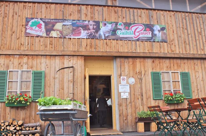Faciliteiten: Boerenwinkel Gailtal Bauer