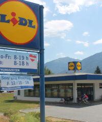 Faciliteiten: Supermarkt Lidl, Kötschach