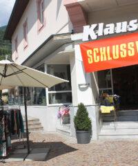Faciliteiten: Winkel Klauss Mode