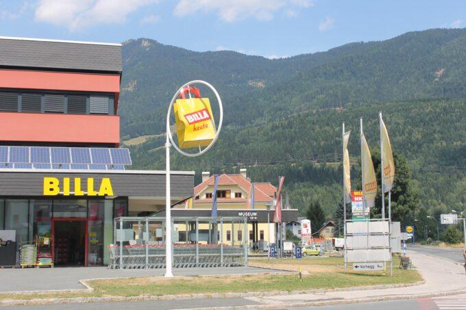 Faciliteiten: Supermarkt Billa