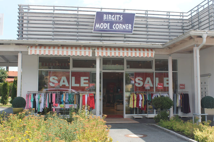 Faciliteiten: Winkel Birgit's mode corner