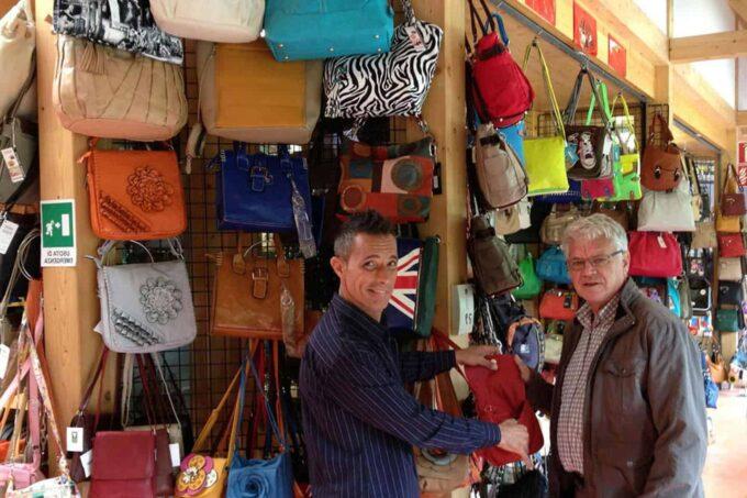 Markt: Piazza Mercato, Tarvisio