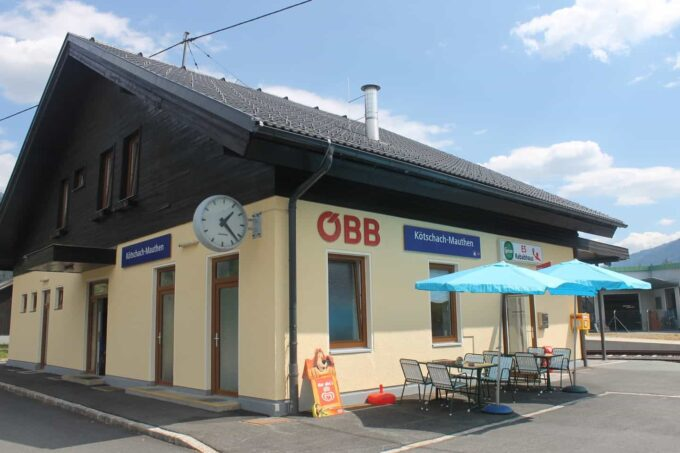 Treinstation Kötschach