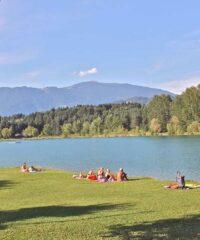 Zwemmen: Strandbad Silbersee