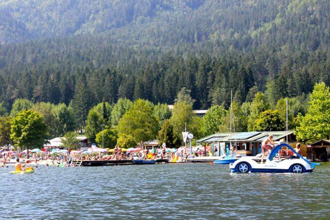 Zwemmen: Strandbad Hermagor