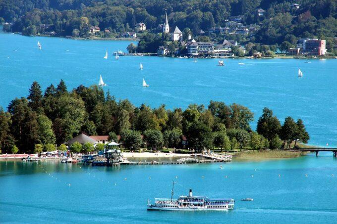 Boottocht: WSG Schiffahrt Wörthersee
