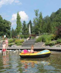 Zwemmen: Natuurzwembad Waldbad Mauthen
