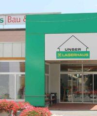 Faciliteiten: Winkel Unser Lagerhaus bouw- en tuinmarkt