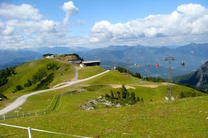 Fietsen en Mountainbiken: Nassfeld